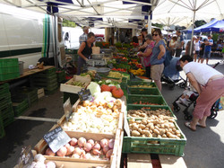 Market Day in Morzine (Wed)