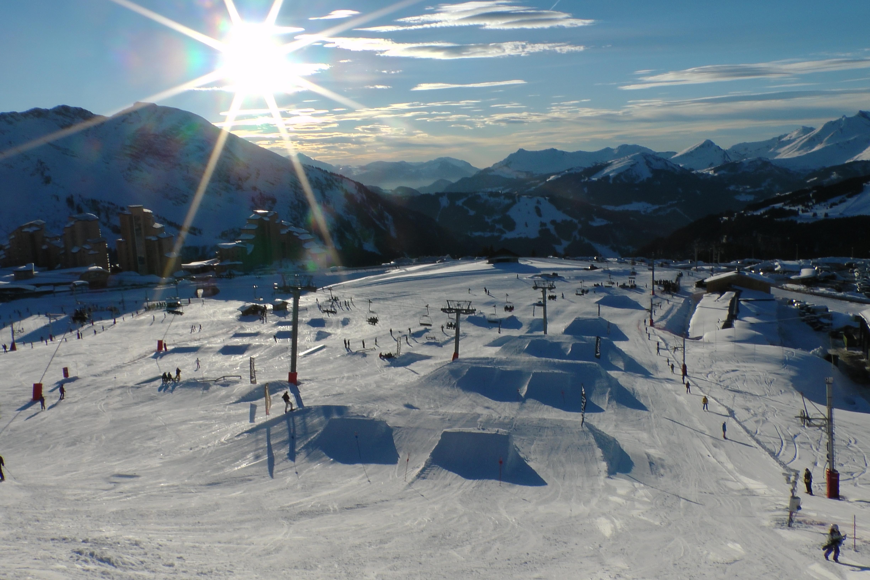 Avoriaz snow park