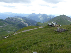 Top of Mossettes in summer