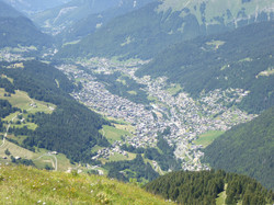 Morzine from the Nyon