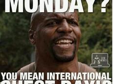 Het fenomeen Monday Chestday