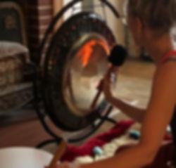 Kundalini yoga and the gong