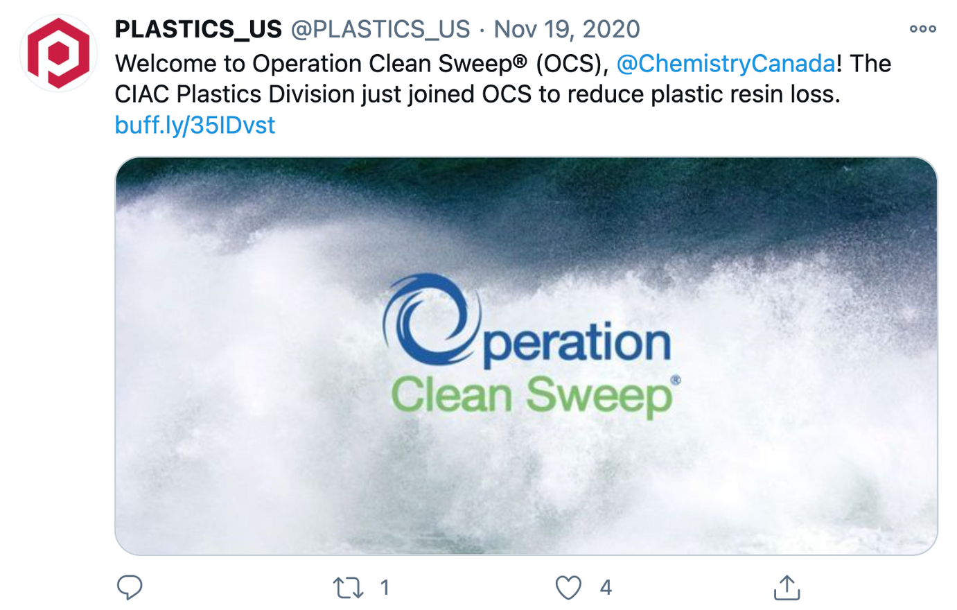PLASTICS_US Tweet