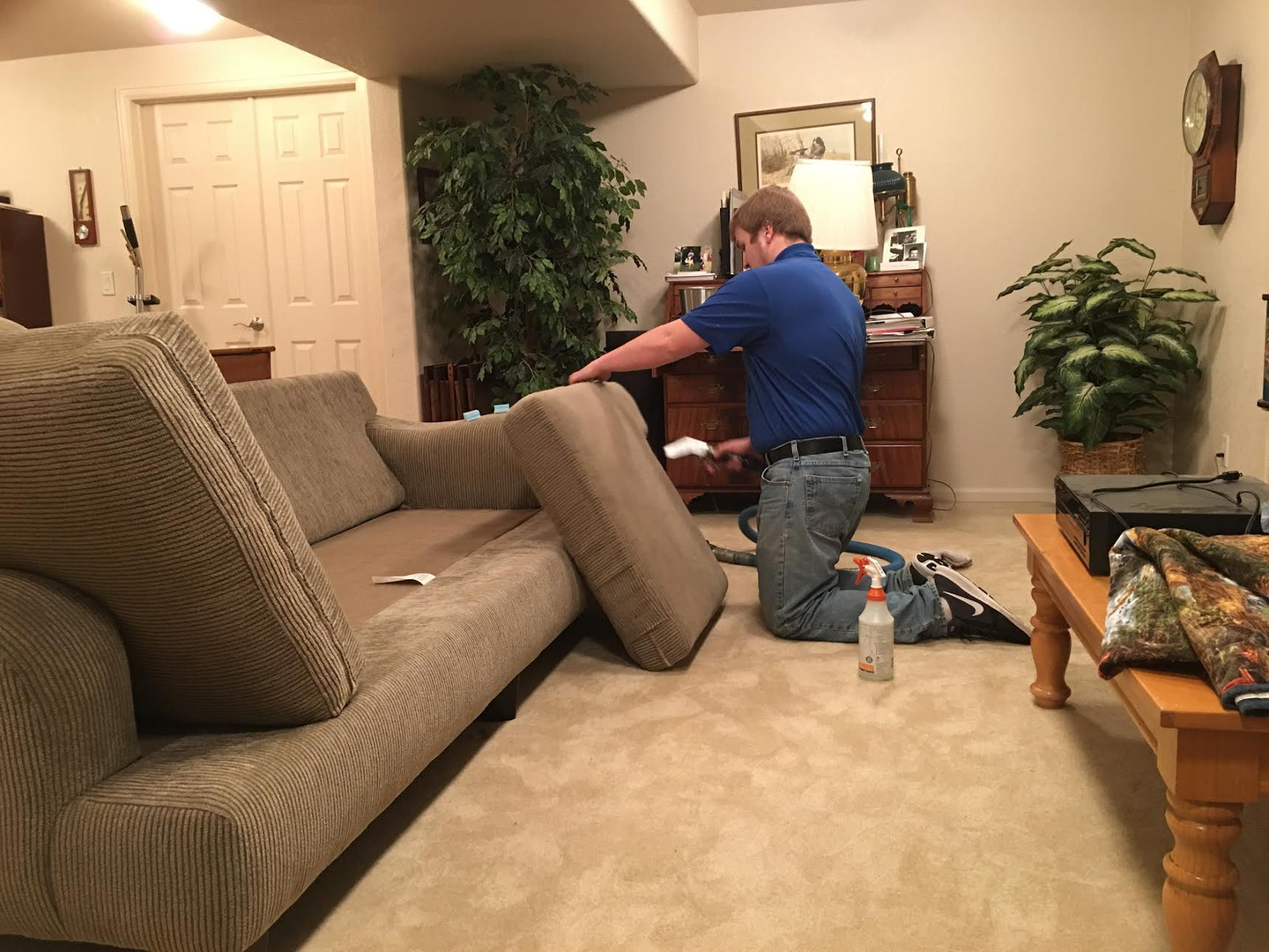 AA Super Klean upholstery cleaning in Casper, Wyoming