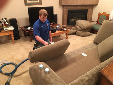 AA Super Klean upholstery cleaner in Casper, Wyoming