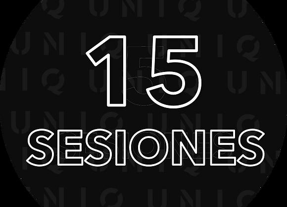15 Próximas sesiones con Diego