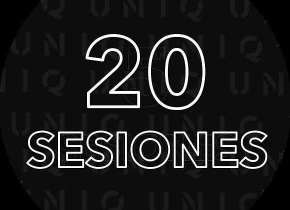 20 Proximas sesiones con Diego