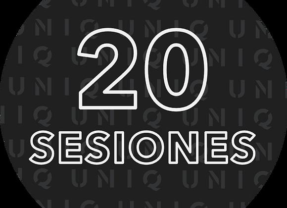 20 próximas sesiones con Enzo