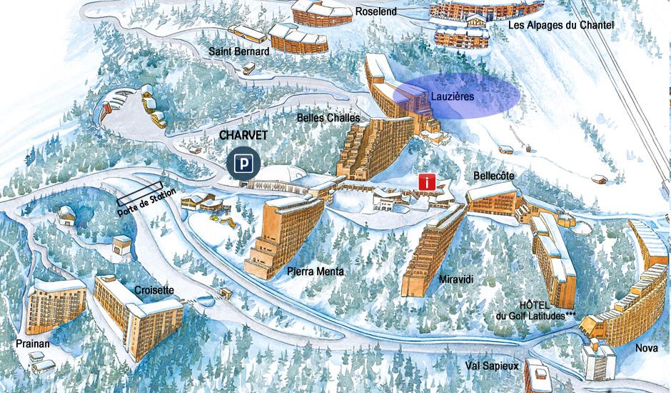 Les Lauzières = ski direct