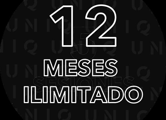 12 Meses de entrenamiento UNICO!