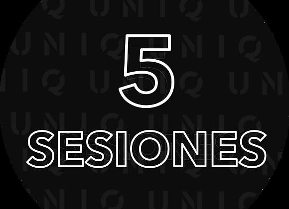 5 Sesiones con Diego