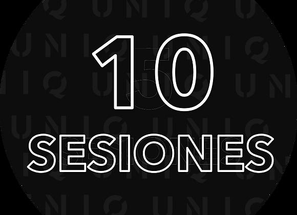 10 Próximas sesiones con Diego