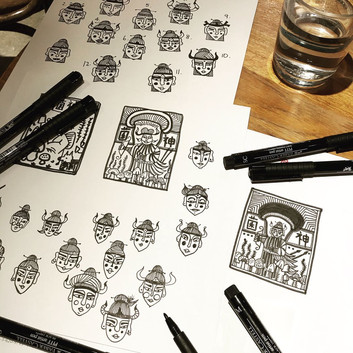 TRADITIONAL CHINESE STAMP INSPIRED DESIGN