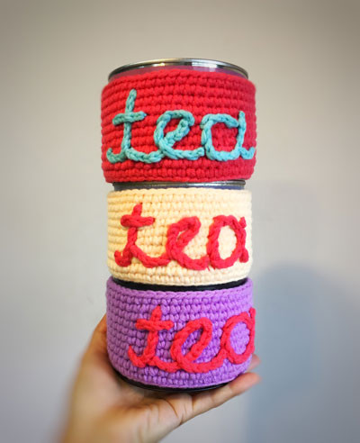 CROCHET COZY TEA GIFT SET