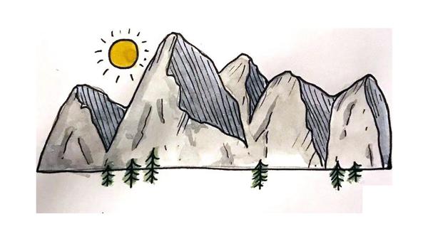 CANG MOUNTAIN ILLUSTRATION