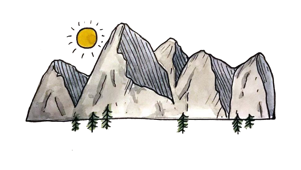 CANG MOUNTAIN ILLUSTRATION