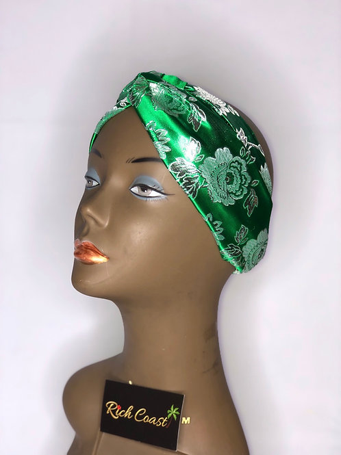 French Green Headband