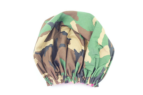 Forest Camouflage Bonnet