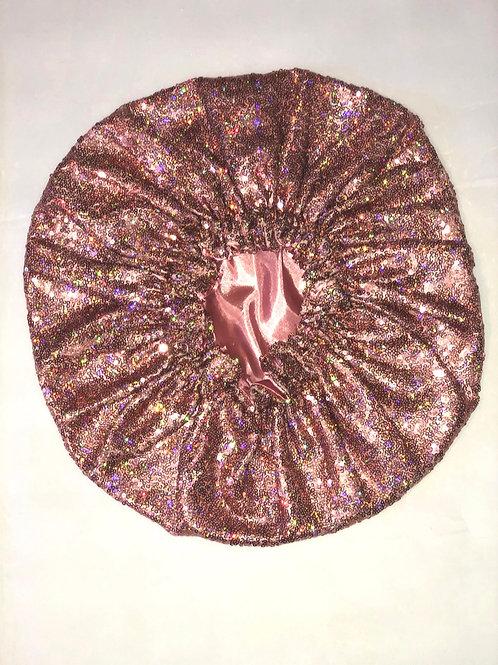 Mauve Glit Bonnet