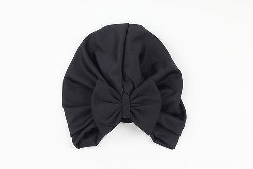 Mid Black Turban