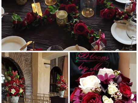 Wedding Flower Spotlight: Emily and Tyler
