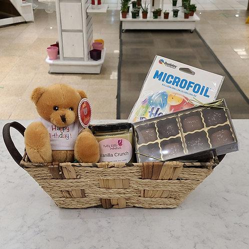 Vanilla Birthday Basket