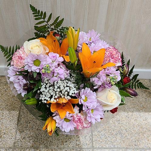Floral Opulence Bouquet - NO VASE