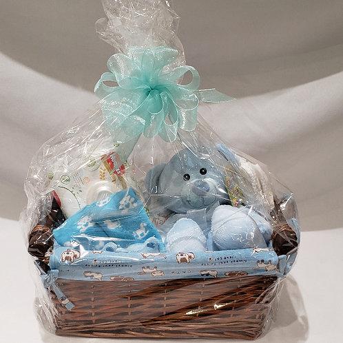 Medium Baby Basket -Pink or Blue