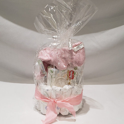 Diaper Cake - Pink or Blue