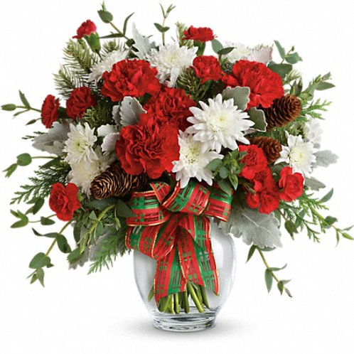 Telefloras' Holiday Shine Bouquet
