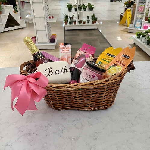 Pretty Pink Beauty Basket