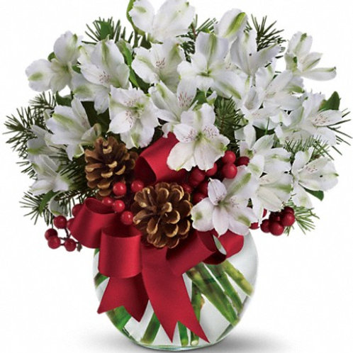 Let it Snow by Teleflora