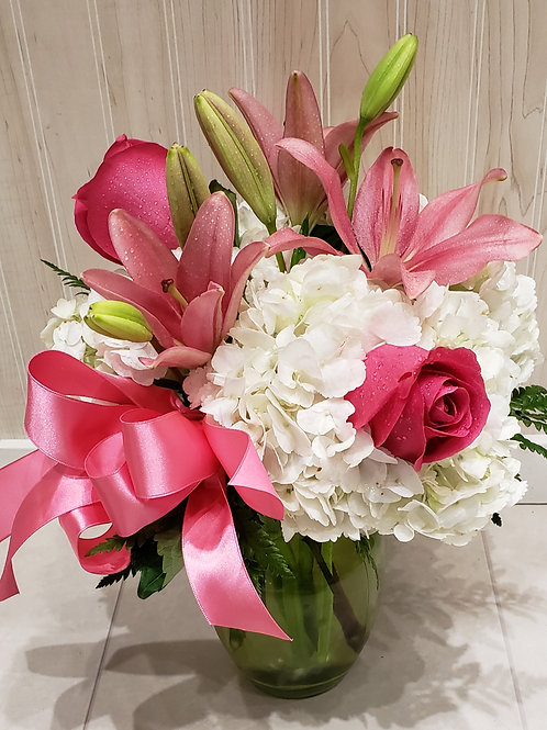 Precious Pinks Arrangement