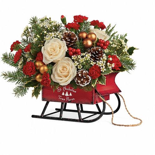 Teleflora's Joyful Sleigh Bouquet
