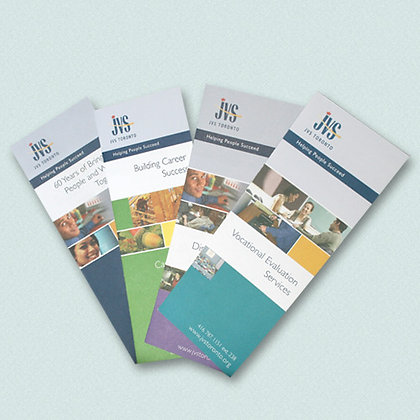 JVS Program Brochures