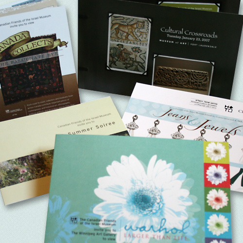 Various Invitations