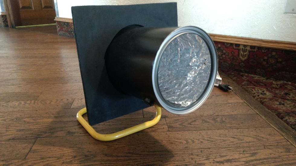 My First Home-Made Light