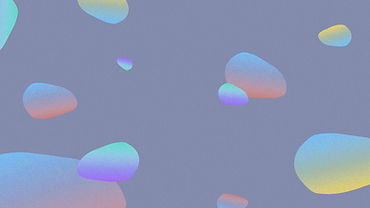 Formes abstraites colorées
