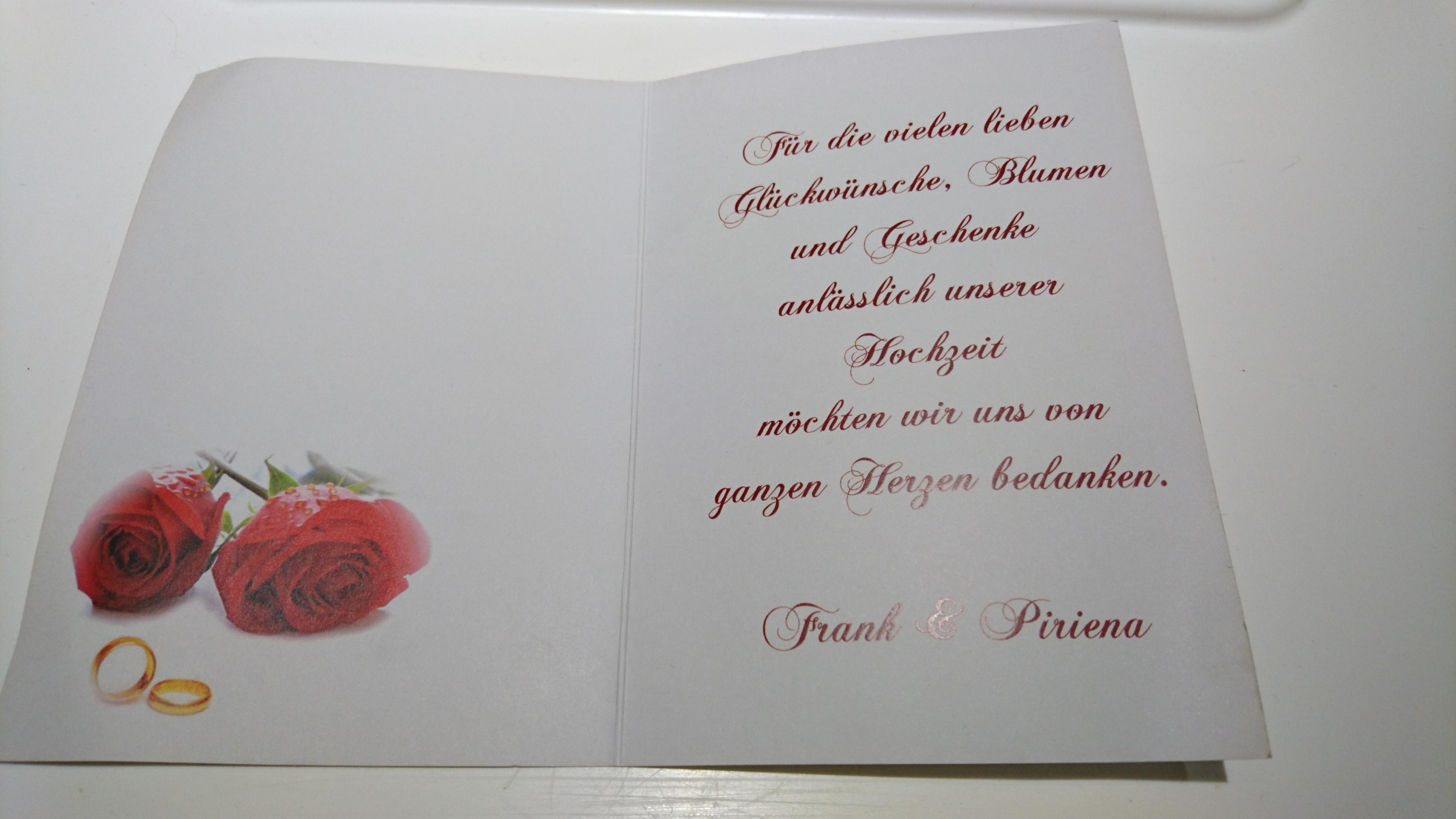 Hochzeit Piriena & Frank