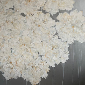 SOLD  White Blooms