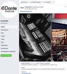 Audinate Dante Supported _Chopin Service