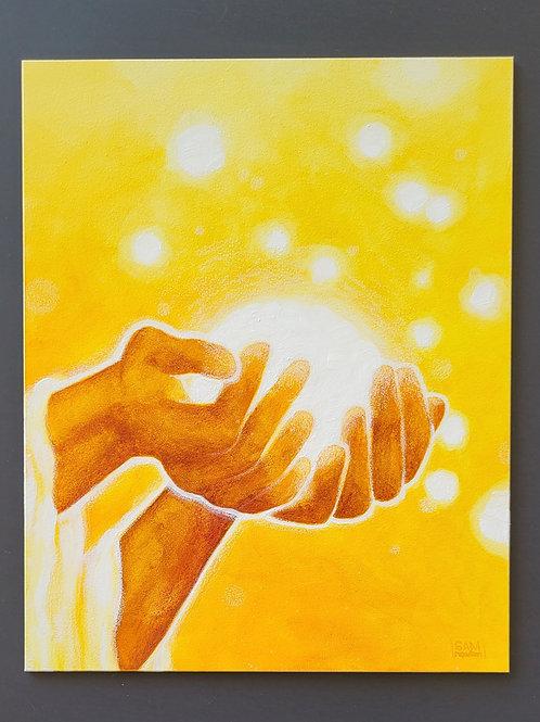 'His Light In Hand' (original)