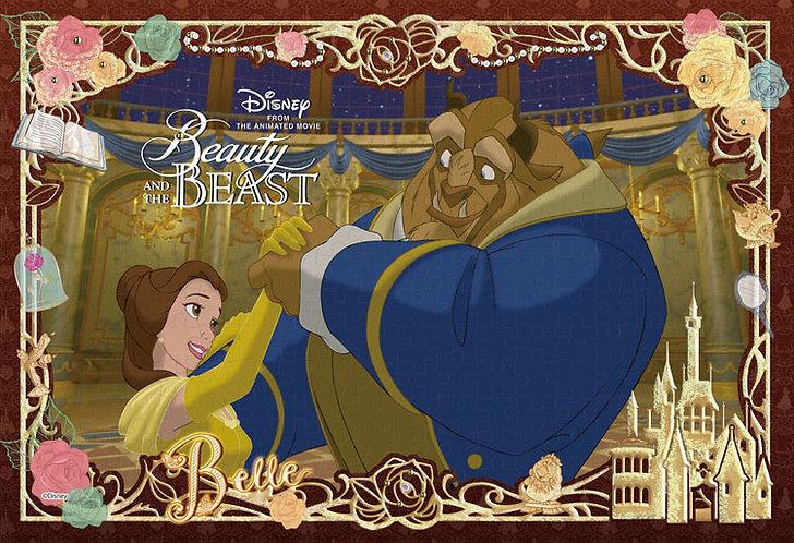 (布料質地) 美女與野獸 - Beauty and the Beast 300塊 (26×38cm)