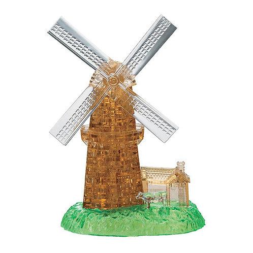 水晶立體 - 阿姆斯特丹風車 64塊