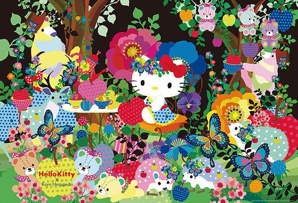 Sanrio - Hello Kitty森林茶黨 1000塊 (49×72cm)