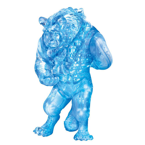 水晶立體 - 野獸 (美女與野獸) 49塊