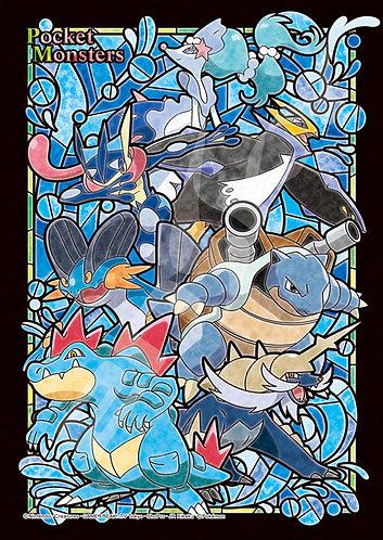 (透明樹脂) 寵物小精靈 - 水系小精靈 208塊 (18.2×25.7cm)