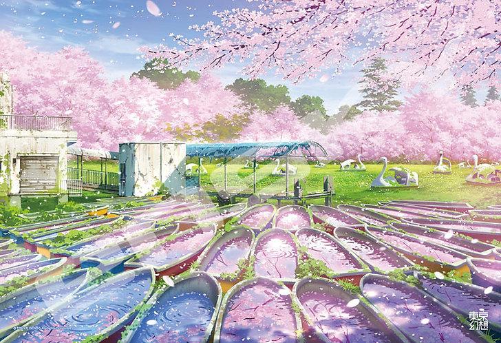 東京幻想 - 井之頭公園幻想 300塊 (26×38cm)