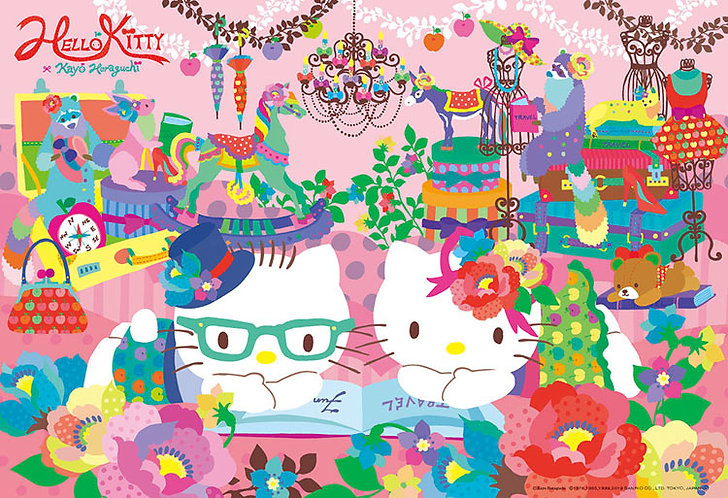 Sanrio - Hello Kitty一路順風 300塊 (26×38cm)