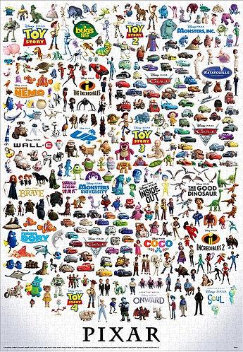 彼思工作室 - 全角色大收藏 1000塊 (51×73.5cm)